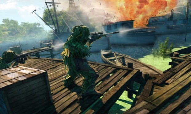 Actionspiel Sniper – Ghost Warrior: Explosion © City Interactive