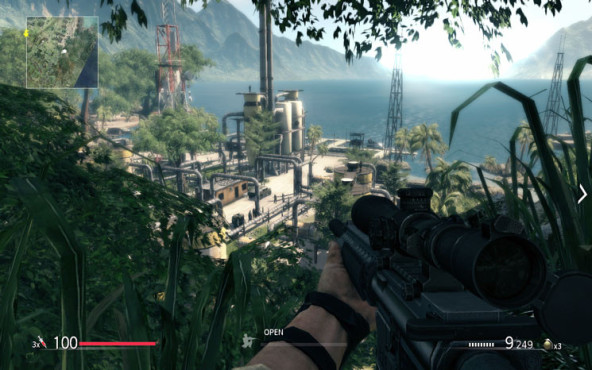 Actionspiel Sniper – Ghost Warrior: Industrieanlage © City Interactive