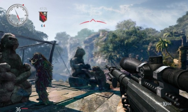 Actionspiel Sniper – Ghost Warrior: Waffe © City Interactive