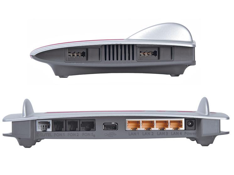 avm fritzbox fon wlan 7390 wlan router mit dsl modem im. Black Bedroom Furniture Sets. Home Design Ideas