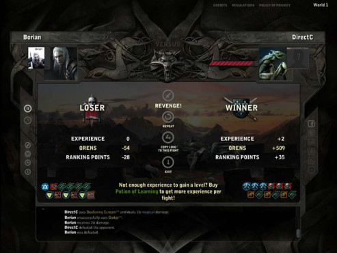Onlinespiel The Witcher Versus: Gilden © Gamigo
