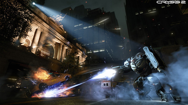 Actionspiel Crysis 2: Scheinwerfer © Electronic Arts