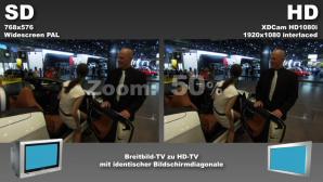 Video: Herkömmliches TV verglichen mit HDTV