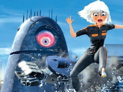 3D-Film: Monsters vs. Aliens © Dreamworks
