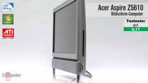 Video zum All-in-One-PC: Acer Aspire Z5610