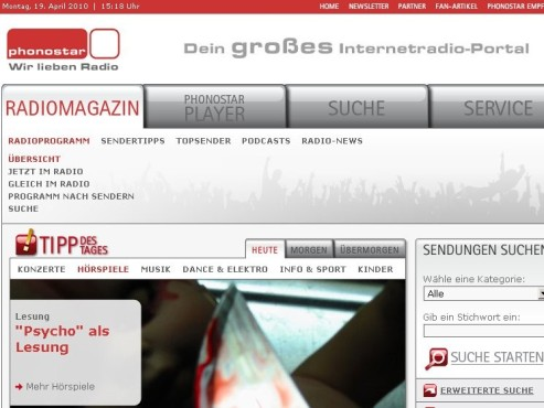 www.phonstar.de ©phonostar.de
