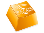 Radioh&ouml;ren per Internet&nbsp;&copy;&nbsp;Vector Darkangel - Fotolia.com
