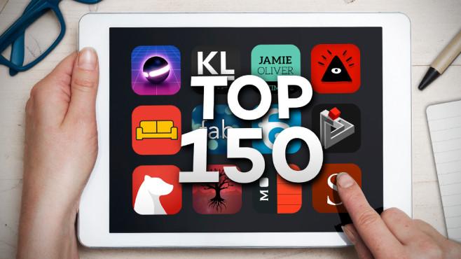 iPad-Apps ©istock.com/Mactrunk, Moleskine, Mediocre, RedFish Game Studio, Shiny Frog di Matteo Rattotti, gamebra.in, Secondverse, Abelssoft/Ascora, Zolmo, Arte.TV, LoyaltyGame, Touch Press, Sven Bacia