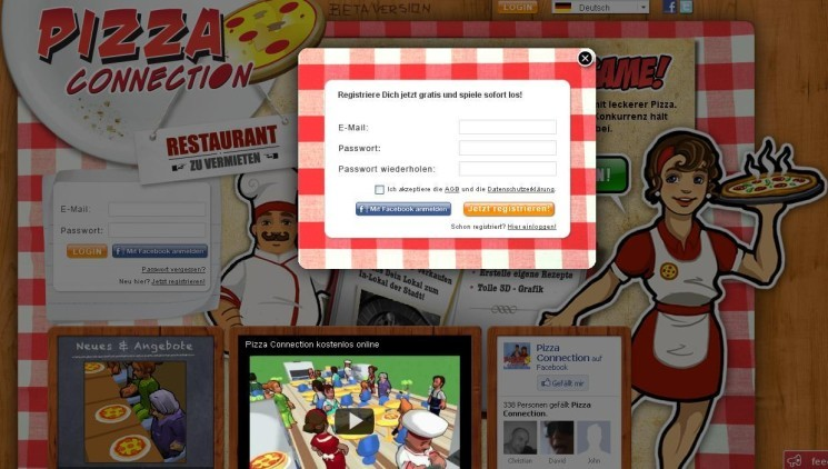 pizza connection online spielen