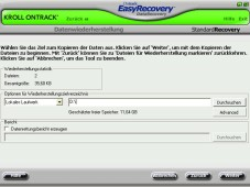 Easy Recovery 6.21 ©Kroll Ontrack