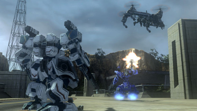 Actionspiel Front Mission Evolved: Mech © Square Enix