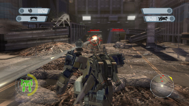 Actionspiel Front Mission Evolved: Wanzer ©Square Enix