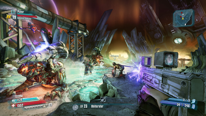 Actionspiel Borderlands Pre-Sequel: Gunzerker © 2K Games