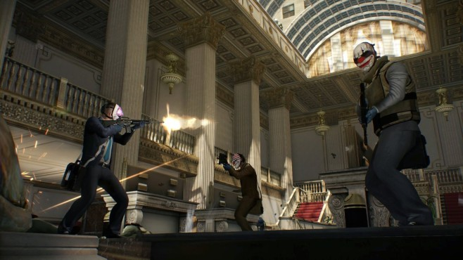 Actionspiel Payday – The Heist: Bankraub © Sony