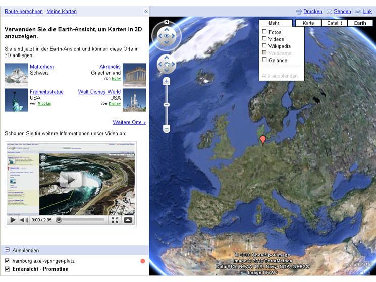 satellitenansicht google earth
