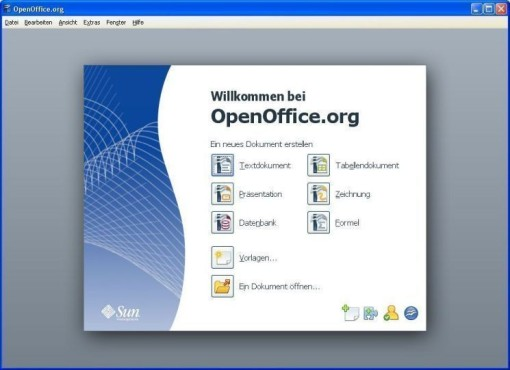OpenOffice.org © Screenshot