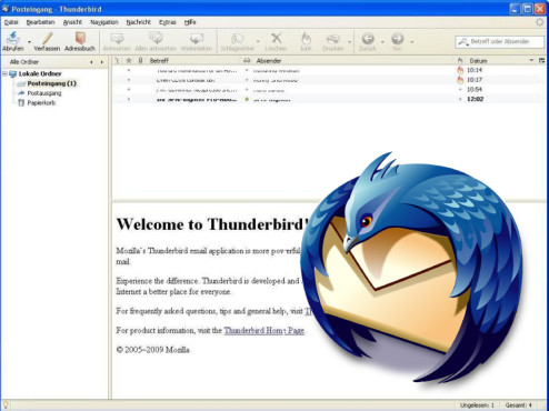 Thunderbird © Screenshot