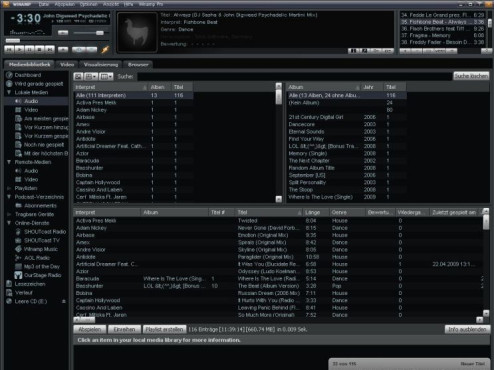 Winamp © Screenshot