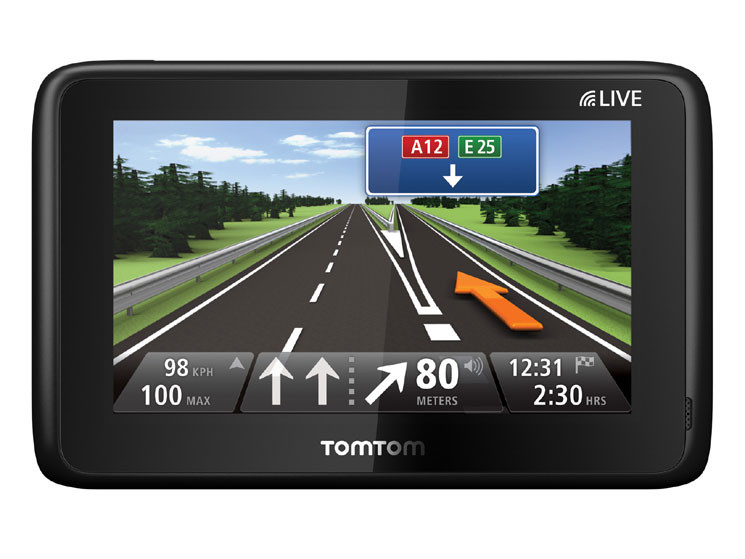 tomtom go live 1000 premium navi mit echtzeit diensten. Black Bedroom Furniture Sets. Home Design Ideas