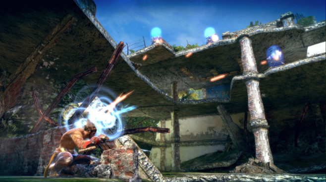 Actionspiel Enslaved – Odyssey to the West: Deckung © Namco Bandai
