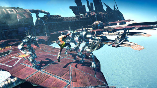 Actionspiel Enslaved – Odyssey to the West: Kampf © Namco Bandai