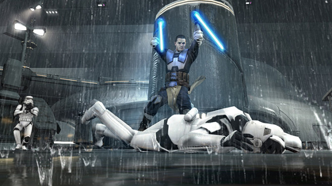 Star Wars – The Force Unleashed 2: Schwerter © Activision