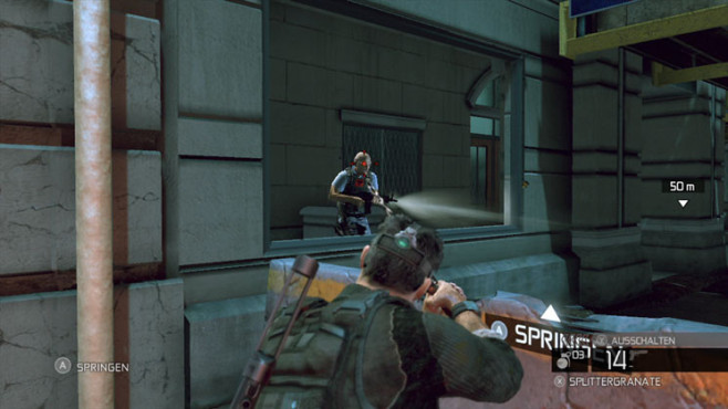 Actionspiel Splinter Cell – Conviction: Schalldämpfer © Ubisoft