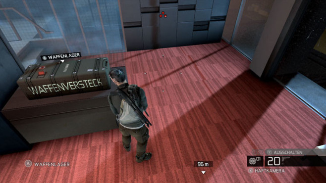 Actionspiel Splinter Cell – Conviction: Waffenversteck © Ubisoft