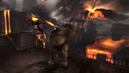 Actionspiel God of War – Ghost of Sparta: Monster ©Sony