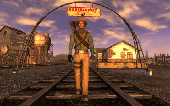 Rollenspiel Fallout – New Vegas: Cowboy © Bethesda Softworks