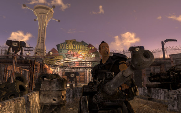 Rollenspiel Fallout – New Vegas: Strip © Bethesda Softworks