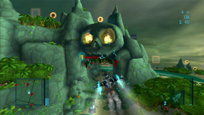 Actionspiel My Sims Skyheroes: Höhle ©Electronic Arts