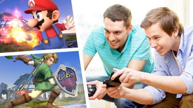 Koop-Spiele ©SanjMur - Fotolia.com, Nintendo
