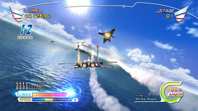 Actionspiel After Burner Climax: Meer © Sega