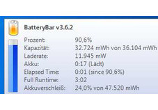 BatteryBar Free
