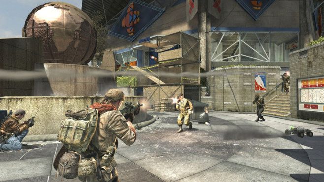 Actionspiel Call of Duty: Black Ops – First Strike: Stadioneingang © Activision Blizzard