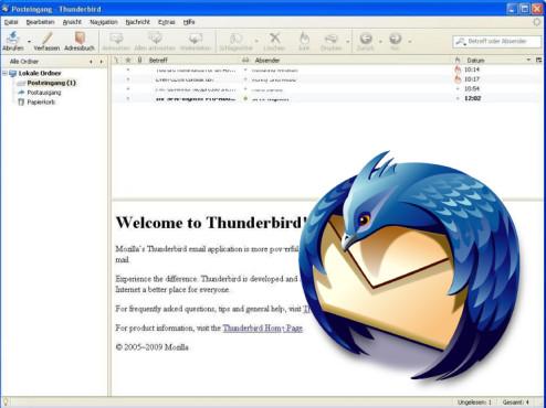 Thunderbird ©Screenshot