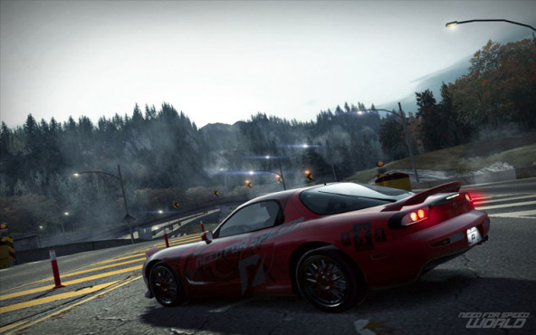 Online-Rennspiel Need for Speed World: Berge © Electronic Arts