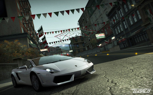 Online-Rennspiel Need for Speed World: Dorf ©Electronic Arts