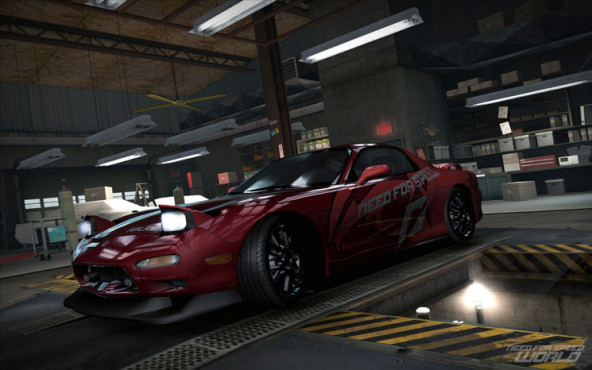 Online-Rennspiel Need for Speed World: Garage © Electronic Arts