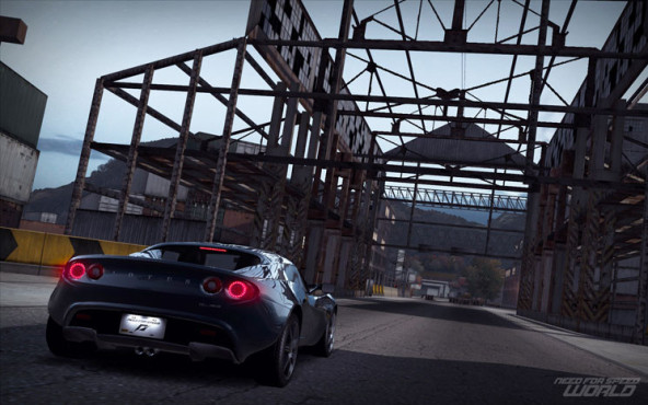 Online-Rennspiel Need for Speed World: Lotus ©Electronic Arts
