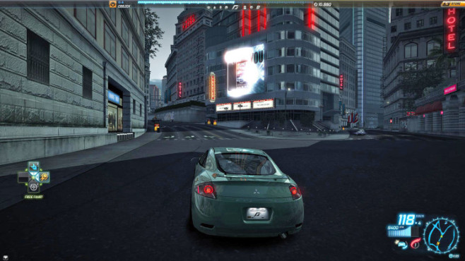 Rennspiel Need for Speed World: Bollide © Electronic Arts