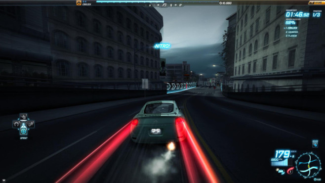 Rennspiel Need for Speed World: Nitro © Electronic Arts