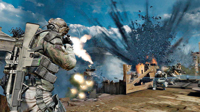Actionspiel Ghost Recon – Future Soldier: Deckung © Ubisoft
