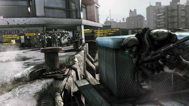 Actionspiel Ghost Recon – Future Soldier: Sicht © Ubisoft