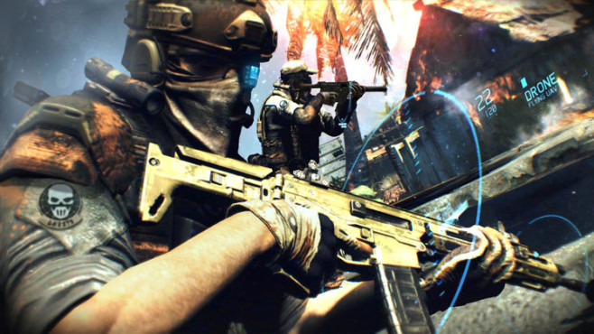 Actionspiel Ghost Recon – Future Soldier: Waffe © Ubisoft