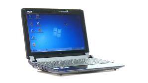 Laptop vor weißem Hintergrund ©computerbild.de