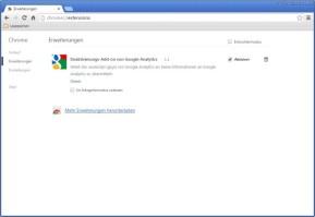 Deaktivierungs-Add-on von Google Analytics für Chrome