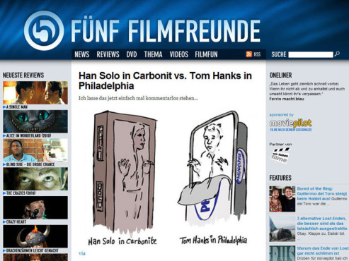 Screenshot F�nf Filmfreunde