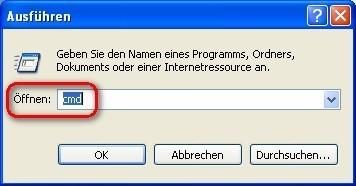 VLC Media Player: IP-Adresse des Computers ermitteln